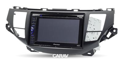 Carav Carav 11-117 | 2DIN переходная рамка Honda Crosstour 2010-2012 (фото, вид 4)