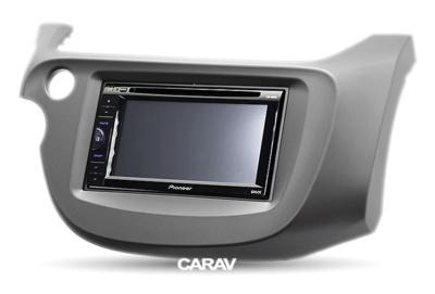 Carav Carav 11-118   2DIN переходная рамка Honda Fit, Jazz 2008-2013 (руль слева) (фото, вид 2)
