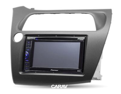 Carav Carav 11-120   2DIN переходная рамка Honda Civic Hatchback 2006-2011 (руль слева) (фото, вид 3)