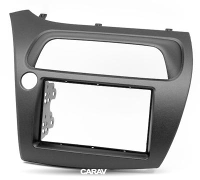 Carav Carav 11-120   2DIN переходная рамка Honda Civic Hatchback 2006-2011 (руль слева) (фото, вид 6)