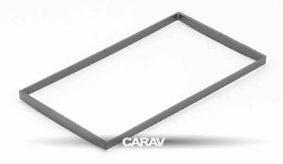 Carav Carav 11-123 | 2DIN переходная рамка Nissan Almera, Latio, Sunny 2012+, Tiida 2004-2010, X-Trail 2001-2014, Qashqai 2007-2013, Patrol 1997-2009, Juke 2010+, Cube 2008+, Versa 2007-2014 (фото, вид 3)