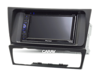 Carav Carav 11-125 | 2DIN переходная рамка BMW 3-Series (E90/91/92/93) 2004-2012 (с климат-контролем / без навигации) (фото, вид 3)