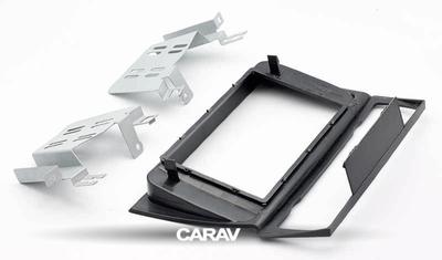 Carav Carav 11-125 | 2DIN переходная рамка BMW 3-Series (E90/91/92/93) 2004-2012 (с климат-контролем / без навигации) (фото, вид 4)