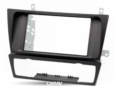 Carav Carav 11-125 | 2DIN переходная рамка BMW 3-Series (E90/91/92/93) 2004-2012 (с климат-контролем / без навигации) (фото, вид 5)