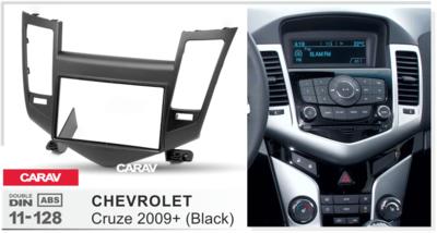 Carav Carav 11-528   2DIN переходная рамка Chevrolet Cruze 2009-2012 (фото, вид 2)