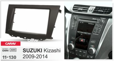 Carav Carav 11-130 | 2DIN переходная рамка Suzuki Kizashi 2009-2014 (фото, вид 2)