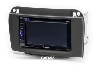 Carav Carav 11-134   2DIN переходная рамка Mercedes-Benz CL-klasse (C215) 2003-2006; S-klasse (W220) 2002-2005 (фото, вид 3)