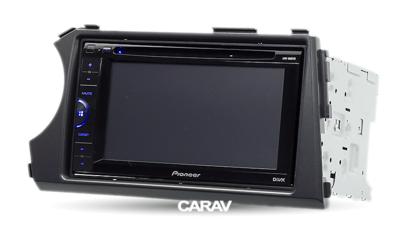 Carav Carav 11-136   2DIN переходная рамка Ssang Yong Actyon, Kyron 2005-2015 (фото, вид 3)
