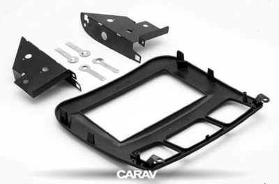 Carav Carav 11-135 | 2DIN переходная рамка Mercedes-Benz S-klasse (W220) 1998-2005 (фото, вид 3)