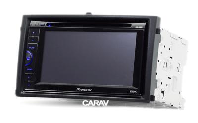 Carav Carav 11-137 | 2DIN переходная рамка Ssang Yong Rexton 2007-2012 (фото, вид 2)