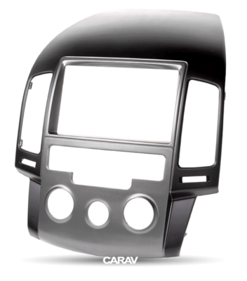 Carav Carav 11-141 | 2DIN переходная рамка Hyundai i-30 (FD) 2008-2011 (без климат-контроля) (фото, вид 4)