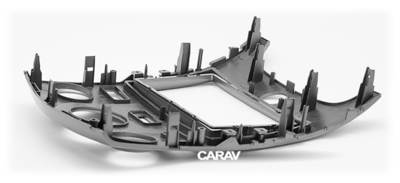 Carav Carav 11-147   2DIN переходная рамка KIA Cerato (TD), Forte (TD), Naza Forte 2009-2012 (без климат-контроля) (фото, вид 3)