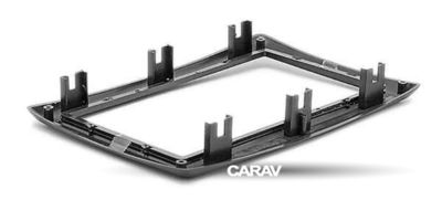 Carav Carav 11-151   2DIN переходная рамка Renault Megane II 2002-2009 (фото, вид 4)