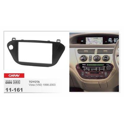 Carav Carav 11-161 | 2DIN переходная рамка Toyota Vista (V50) 1998-2003 (руль справа) (фото, вид 1)
