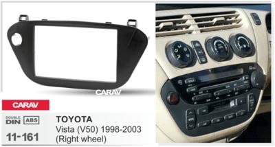 Carav Carav 11-161 | 2DIN переходная рамка Toyota Vista (V50) 1998-2003 (руль справа) (фото, вид 2)