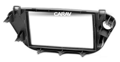 Carav Carav 11-161 | 2DIN переходная рамка Toyota Vista (V50) 1998-2003 (руль справа) (фото, вид 4)