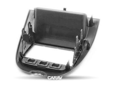 Carav Carav 11-167   2DIN переходная рамка Toyota Aygo 2005-2014, Peugeot (107) 2005-2014, Citroen C1 2005-2014 (фото, вид 3)