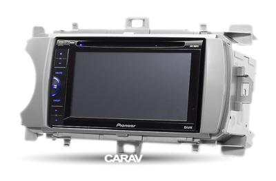 Carav Рамка TOYOTA Yaris (XP130) 2011-2014 (универсальная - руль слева/справа) (CARAV 11-170) (фото, вид 2)