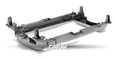 Carav Рамка TOYOTA Yaris (XP130) 2011-2014 (универсальная - руль слева/справа) (CARAV 11-170) (фото, вид 3)