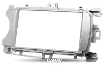 Carav Рамка TOYOTA Yaris (XP130) 2011-2014 (универсальная - руль слева/справа) (CARAV 11-170) (фото, вид 4)