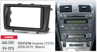 Carav Рамка TOYOTA Avensis (T270) 2009-2015 (CARAV 11-173) (фото, вид 2)