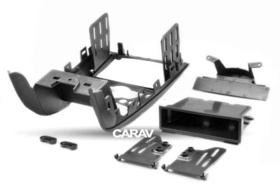 Carav Рамка MINI Hatch II (R56) 2006-2014; Cabrio II (R57) 2009-2015; Clubman (R55) 2007-2014; Clubvan (R55) 2012-2014; Coupe (R58) 2011-2015; Roadster (R59) 2012-2015 (c карманом / только для а/м с климат-контролем) (CARAV 11-179) (фото, вид 4)