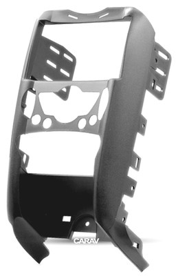Carav Рамка MINI Hatch II (R56) 2006-2014; Cabrio II (R57) 2009-2015; Clubman (R55) 2007-2014; Clubvan (R55) 2012-2014; Coupe (R58) 2011-2015; Roadster (R59) 2012-2015 (c карманом / только для а/м с климат-контролем) (CARAV 11-179) (фото, вид 5)