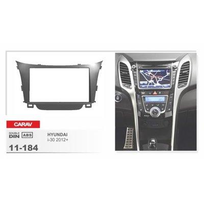 Carav Carav 11-184   2DIN переходная рамка Hyundai i-30 2012+ (фото, вид 1)
