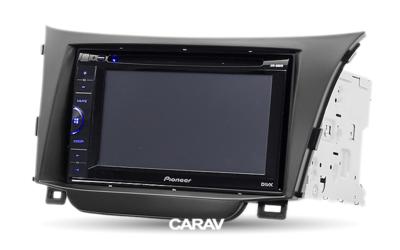 Carav Carav 11-184   2DIN переходная рамка Hyundai i-30 2012+ (фото, вид 3)