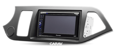 Carav Рамка KIA Picanto (TA), Morning (TA) 2011-2017 (руль слева) (CARAV 11-192) (фото, вид 2)