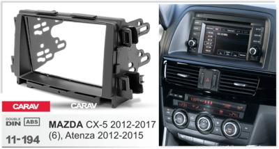 Carav Рамка MAZDA (6), Atenza 2012-2015; CX-5 2012-2017 (CARAV 11-194) (фото, вид 1)