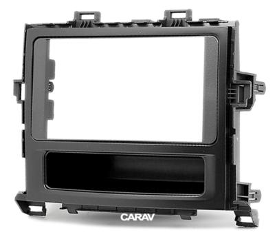 Carav Рамка TOYOTA Alphard, Vellfire 2008-2015 (c карманом) (CARAV 11-201) (фото, вид 4)