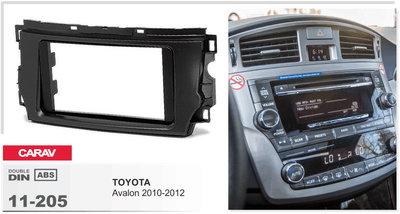 Carav Рамка TOYOTA Avalon 2010-2012 (CARAV 11-205) (фото, вид 1)