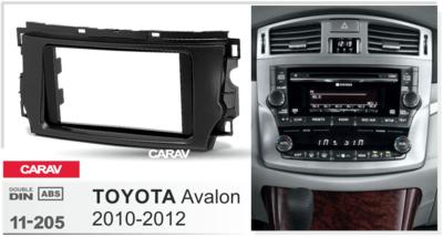 Carav Рамка TOYOTA Avalon 2010-2012 (CARAV 11-205) (фото, вид 2)