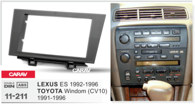 Carav Рамка TOYOTA Windom (CV10) 1991-1996 / LEXUS ES 1992-1996 (CARAV 11-211) (фото, вид 1)