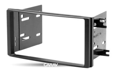 Carav Carav 11-212   2DIN переходная рамка Subaru Forester 2008+/2013+; Impreza 2007+/2013+; XV 2011-2017; WRX 2014+ (фото, вид 5)
