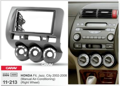 Carav Рамка HONDA Fit, Jazz 2002-2008 (без климат-контроля / руль справа) (CARAV 11-213) (фото, вид 1)