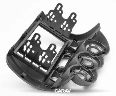 Carav Рамка HONDA Fit, Jazz 2002-2008 (без климат-контроля / руль справа) (CARAV 11-213) (фото, вид 3)