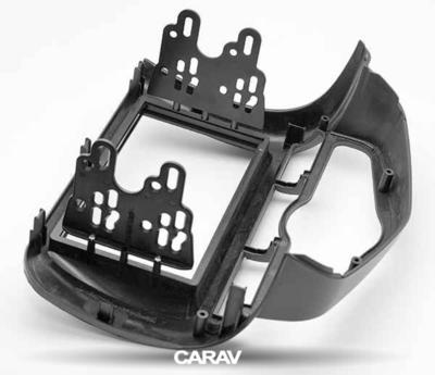 Carav Рамка HONDA Fit, Jazz 2002-2008 (с климат-контролем / руль справа) (CARAV 11-214) (фото, вид 4)