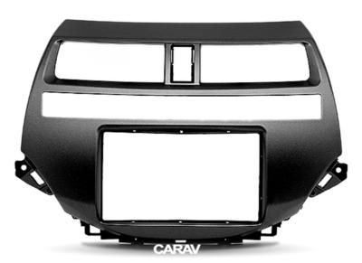 Carav Рамка HONDA Accord 2008-2012; Crosstour 2010-2012 (для рынка Америки-Азии / только для а/м без навигации / только с климат-контролем) (CARAV 11-215) (фото, вид 4)