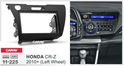 Carav Рамка HONDA CR-Z 2010+ (руль слева) (CARAV 11-225) (фото, вид 3)