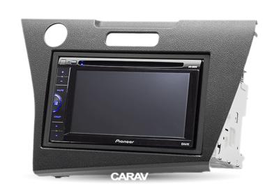 Carav Рамка HONDA CR-Z 2010+ (руль слева) (CARAV 11-225) (фото, вид 4)