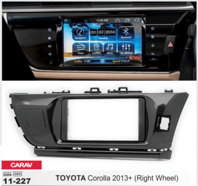 Carav Рамка TOYOTA Corolla 2013-2017 (руль справа) (CARAV 11-227) (фото, вид 3)