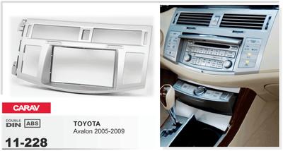Carav Рамка TOYOTA Avalon 2005-2009 (CARAV 11-228) (фото, вид 2)