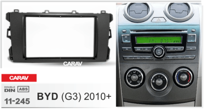 Carav Рамка BYD G3 2010+ (CARAV 11-245) (фото, вид 1)