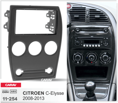 Carav Рамка CITROEN C-Elysse 2008-2013 (CARAV 11-254) (фото, вид 2)