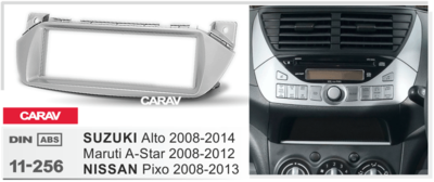 Carav Рамка SUZUKI Alto 2008-2014; Maruti A-Star 2009-2012 / NISSAN Pixo 2008-2013 (CARAV 11-256) (фото, вид 1)