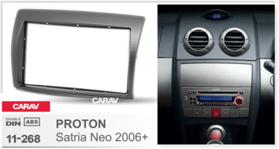 Carav Рамка PROTON Satria Neo 2006+ (CARAV 11-268) (фото, вид 4)