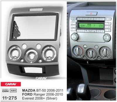 Carav Рамка MAZDA BT-50 2006-2011 / FORD Ranger 2006-2010, Everest 2006-2013 (CARAV 11-275) (фото, вид 3)