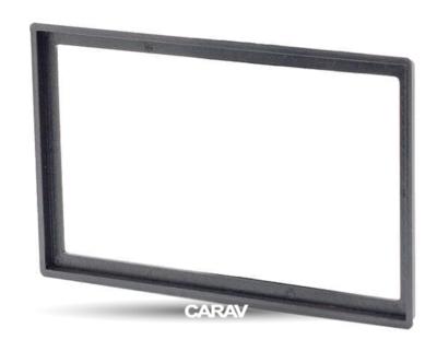 Carav Carav 11-279   2DIN переходная рамка Chery Eastar 2003-2012; B11, Mikado, Oriental Son, Queen 2005-2012; A5, A21, Alia, Elara, Fora 2006-2010, VORTEX Estina 2006-2012 (фото, вид 5)